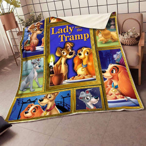 Lady And The Tramp - Blanket