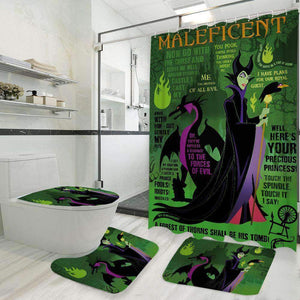 Maleficent - Bathroom Set