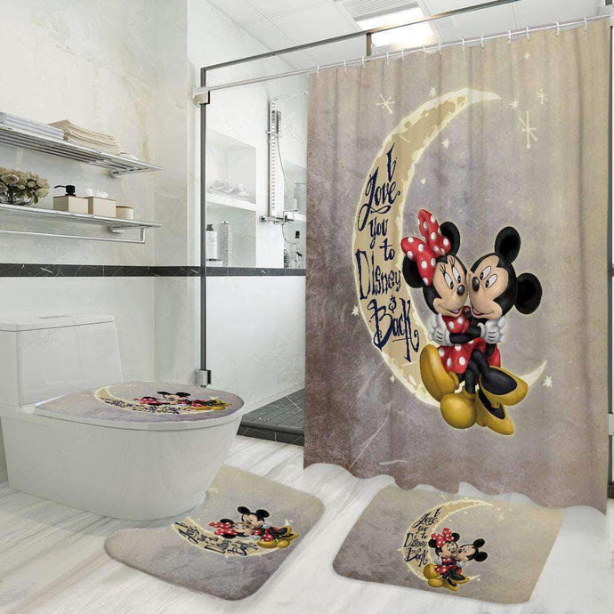 I Love You To Disney And Back - Bathroom Set