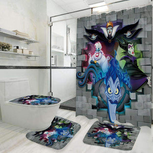 Disney Villains - Bathroom Set