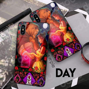 Beauty And The Beast - Glowing Phone Case