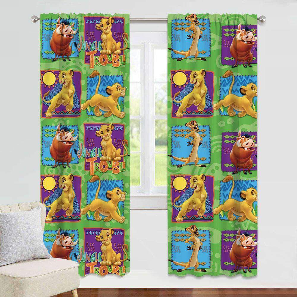 The Lion King - Window Curtain