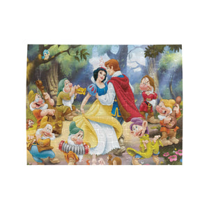 Snow white Prince Rectangle Jigsaw Puzzle (Set of 110 Pieces)