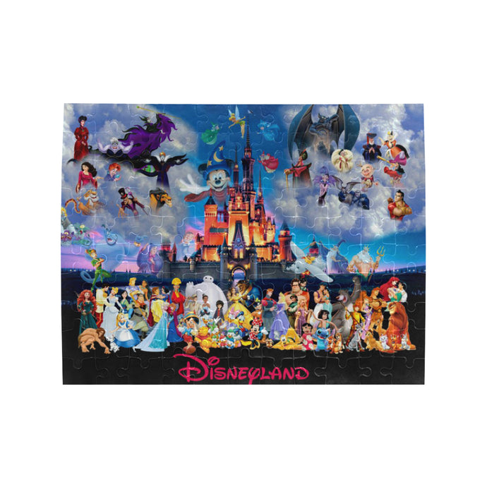 Disneyland Rectangle Jigsaw Puzzle (Set of 110 Pieces)