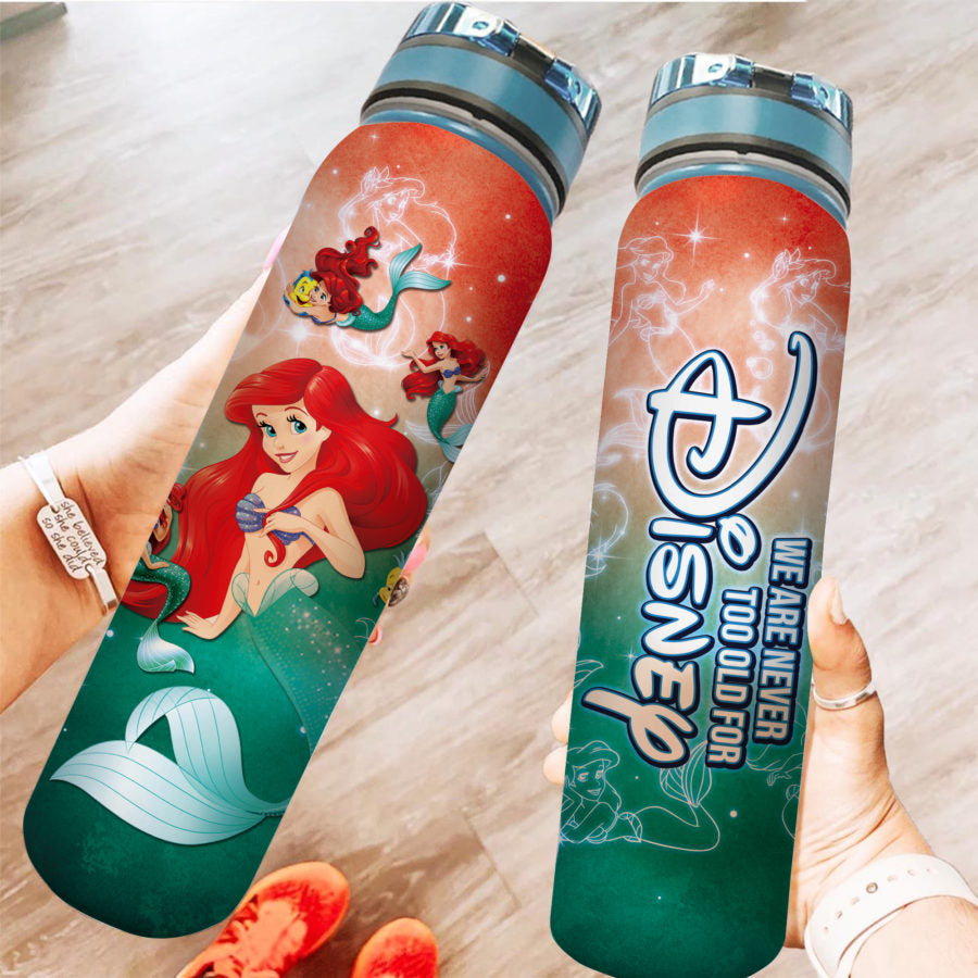 Princess Ar - Water Tracker Bottle