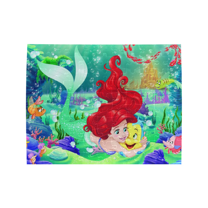 Ariel Rectangle Jigsaw Puzzle (Set of 110 Pieces)
