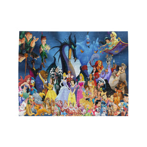 Awesome Disneyland Rectangle Jigsaw Puzzle (Set of 110 Pieces)