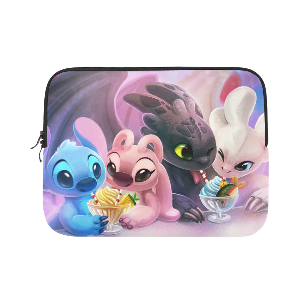 Stitch And Friends Laptop Sleeve