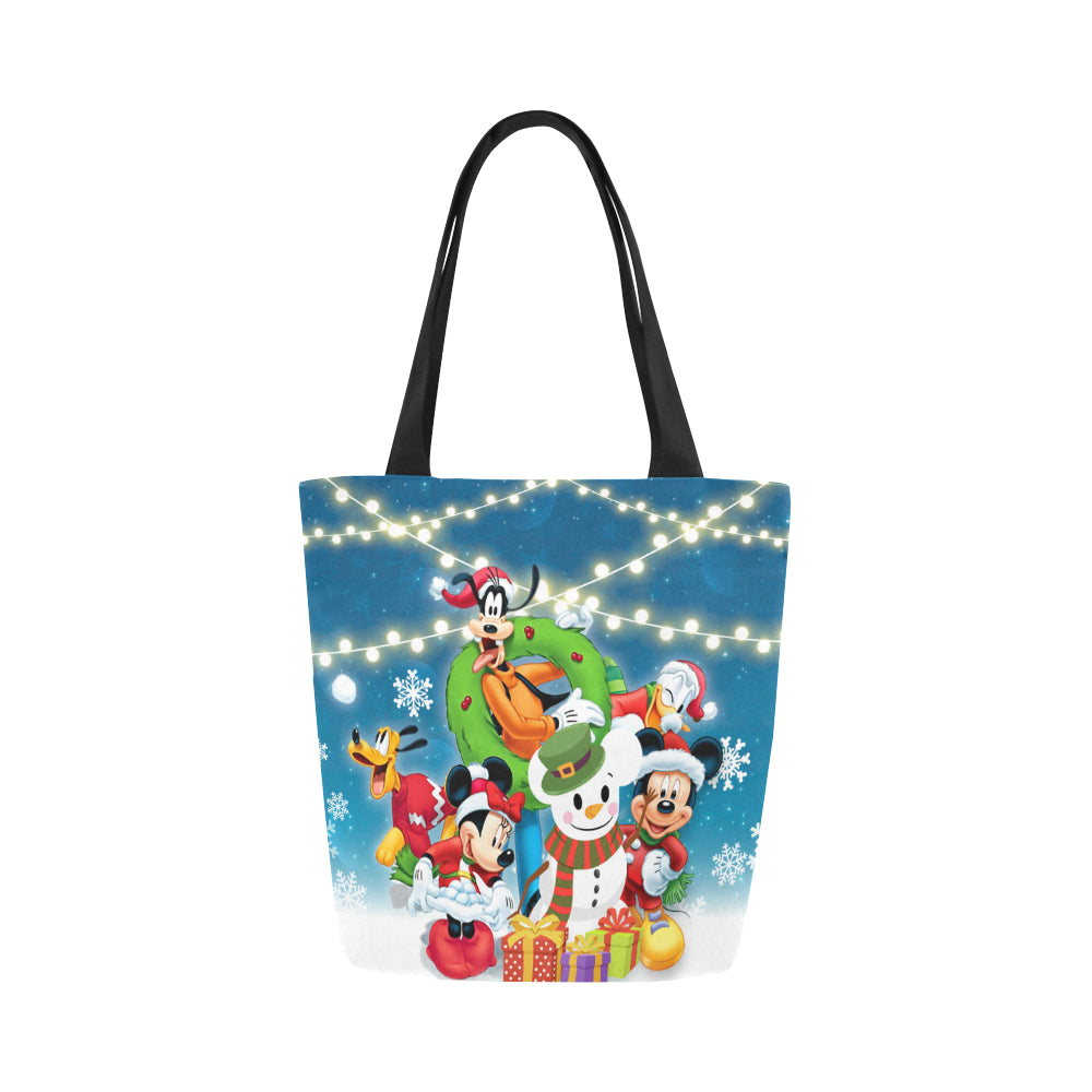 Mickey n Friends Canvas Tote Bag (Model 1657)