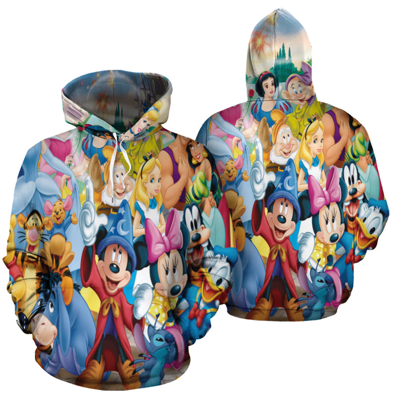 Mickey Fantasia All Over Print