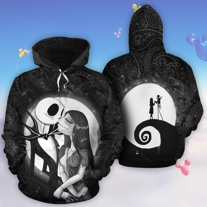 Jack And Sally Hoodie