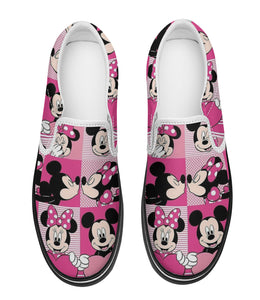 MK n MN Pink Slip - On Shoe