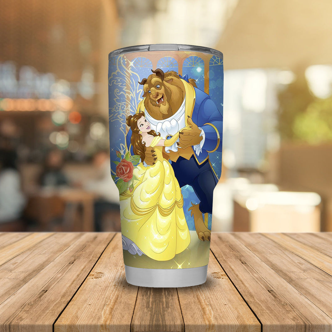 Beauty and The Beast Tumbler
