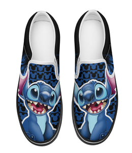 Stitch 3D Slip-on-Sneakers