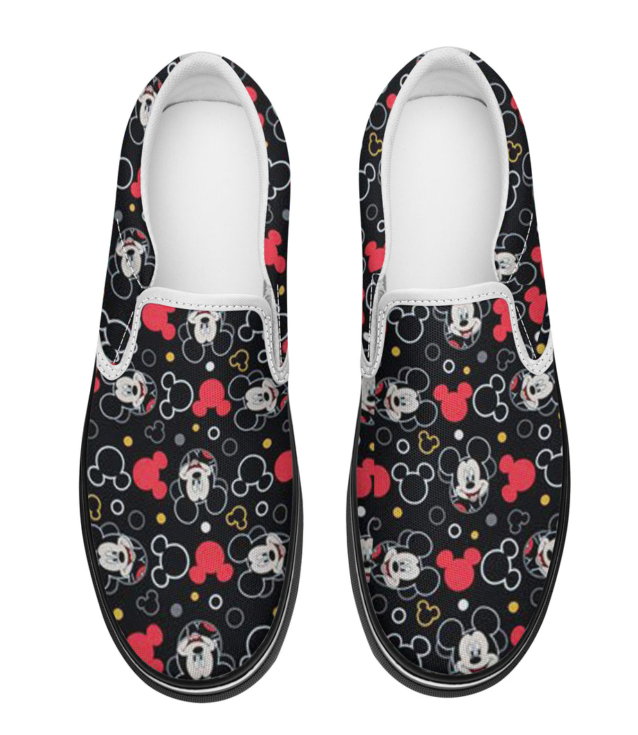 MK Pattern Slip-on-Sneakers