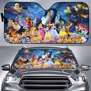 DN Characters - Auto Sunshade