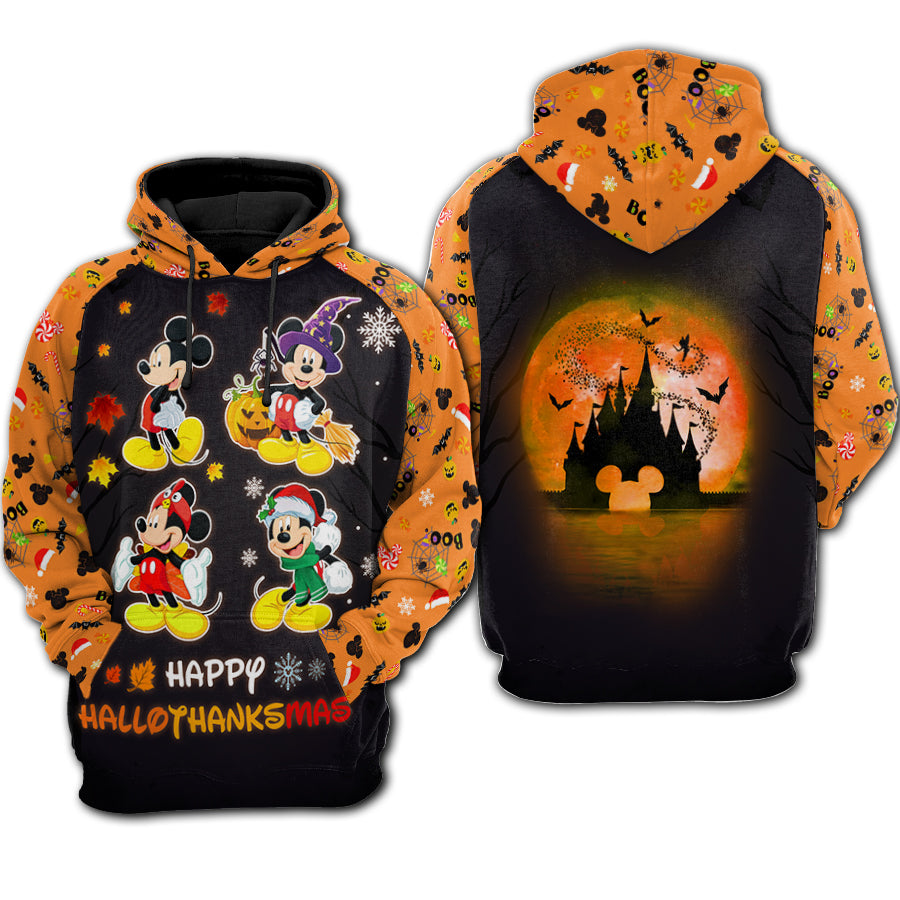 Mickey Mouse Halloween - Hoodie