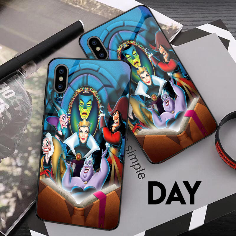 Disney Villains - Glowing Phone Case