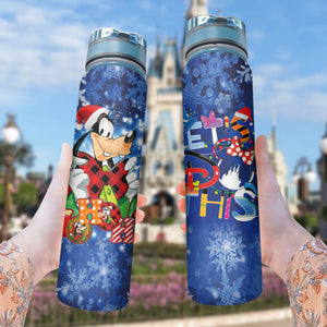 Goofy Let's Do This - Water Tracker Bottle