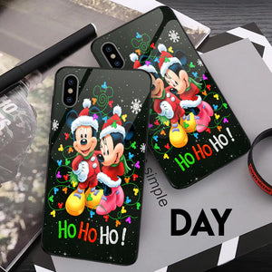 Mk Minnie Hohoho - Glowing Phone Case