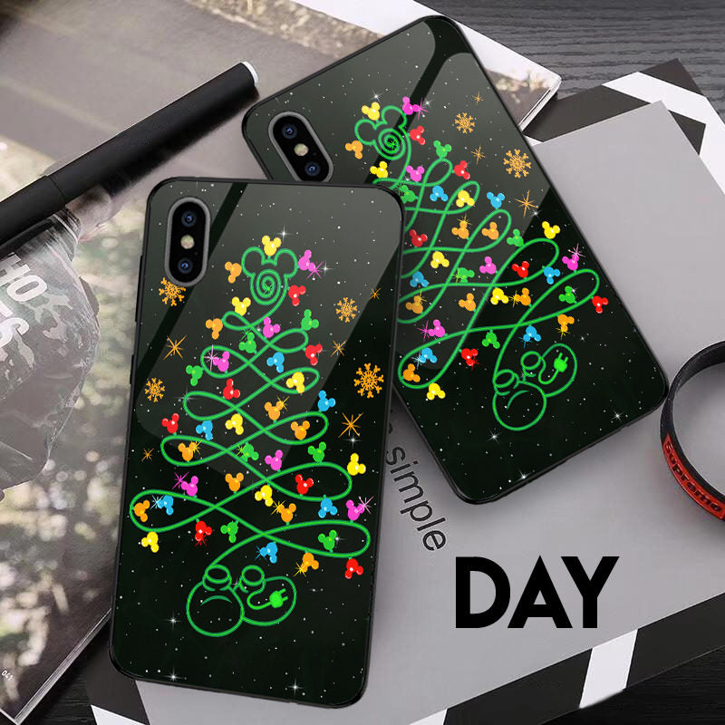 MK Tree Christmas - Glowing Phone Case