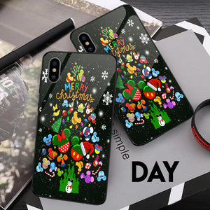 Tree Merry Christmas - Glowing Phone Case