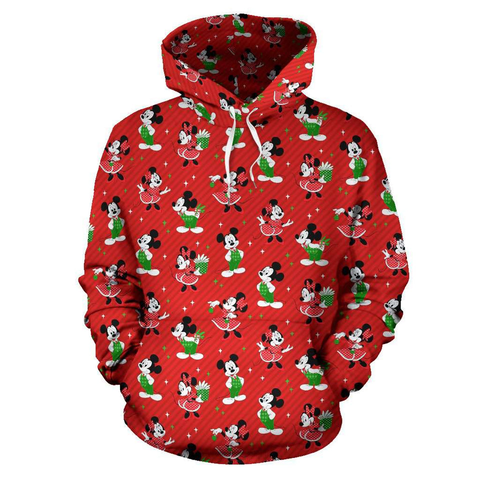 Q. 04. CHRISTMAS - ALL OVER HOODIE