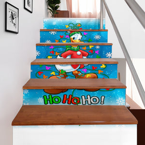 Donald Duck Hohoho Stair Stickers (Set of 6)