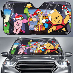 Pooh And Friends - Auto Sun Shade