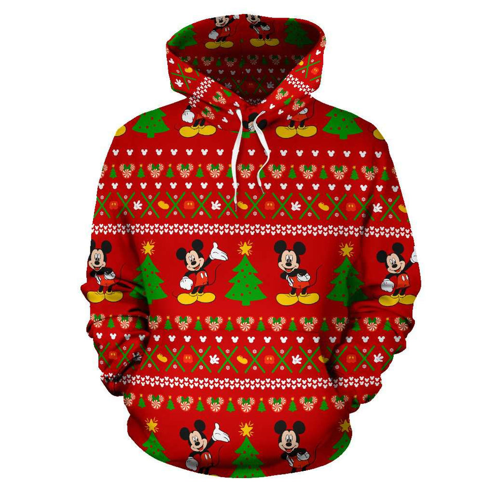 O.MICKEY HOODIE RED