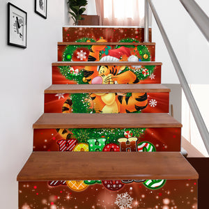 Tigger hohoho Stair Stickers (Set of 6)