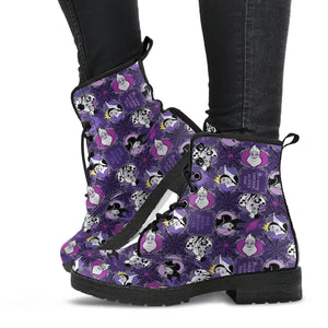 Villains Disney Leather Boots