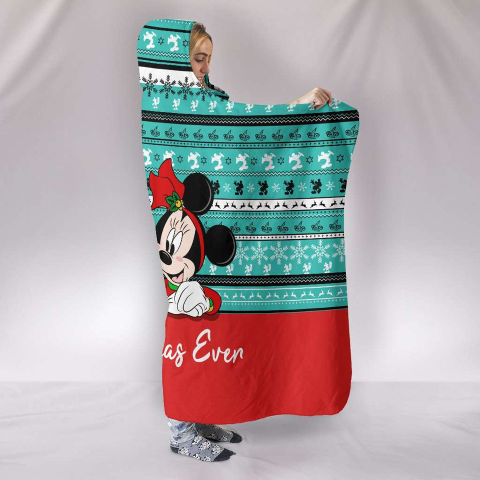 Mickey Xmas - Hooded Blanket