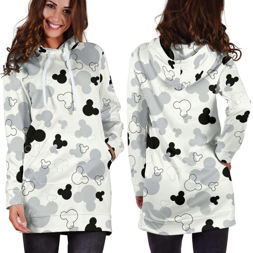 O.MICKEY HOODIE DRESS