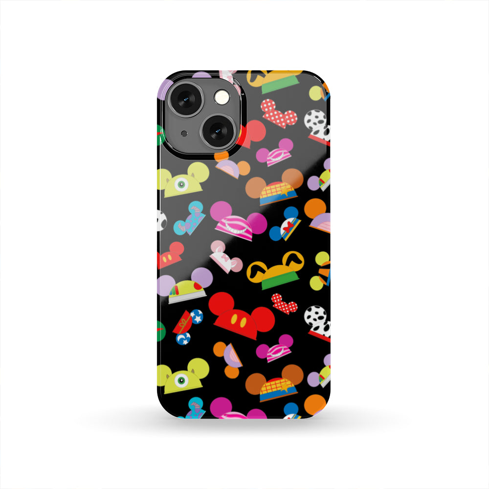 Q. MICKEY HATS - phone case