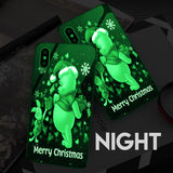 Po Christmas - Glowing Phone Case