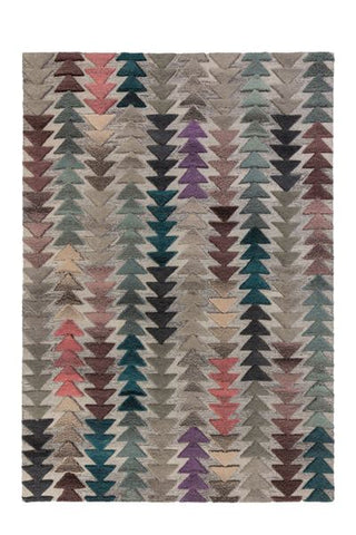 Multi Coloured Autumn Area Rug