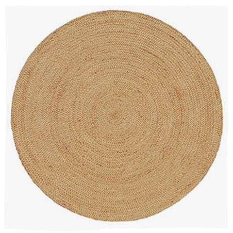 Image of Pacific Handmade Round Jute Rug , Natural cvsonia