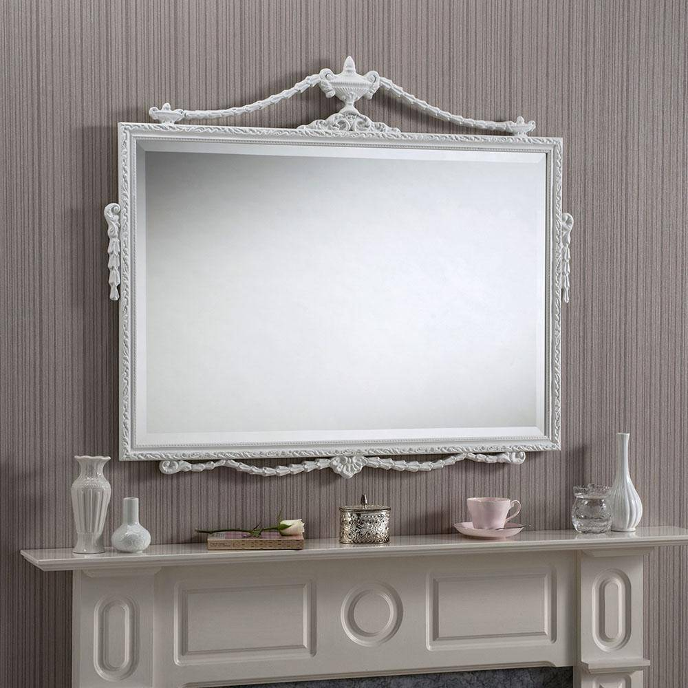 Frost White Mirror RUGSANDROOMS