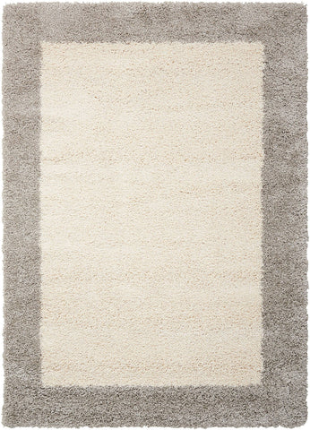 Image of Nourison Ivory/Silver Area Rug RUGSANDROOMS