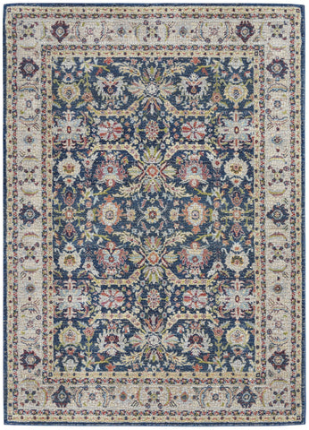 Image of Ankara Navy/Multi 13 Area Rug RUGSANDROOMS