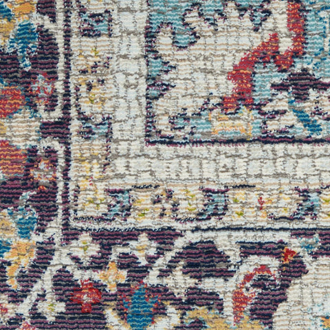 Image of Ankara Teal/Multi 14 Area Rug RUGSANDROOMS
