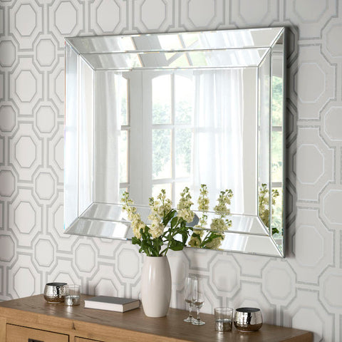 Lexi Silver Finish Mirror