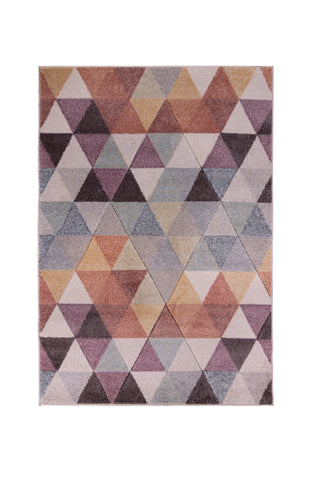 Image of Luna Pink Multi Area Rug