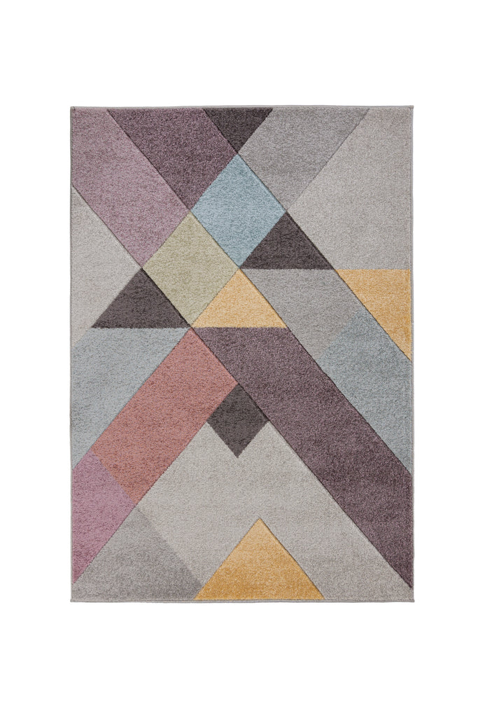 Nora Pink Multi Area Rug