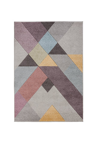 Image of Nora Pink Multi Area Rug