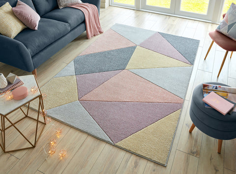 Image of Penelope Pink Multi Area Rug