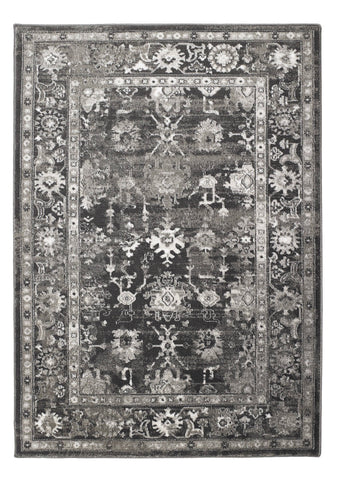 Anatolia Dark Grey Area Rug RUGSANDROOMS