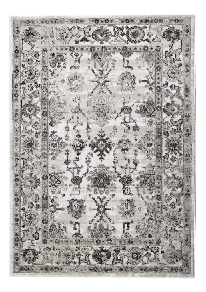 Anatolia Light Grey Area Rug RUGSANDROOMS