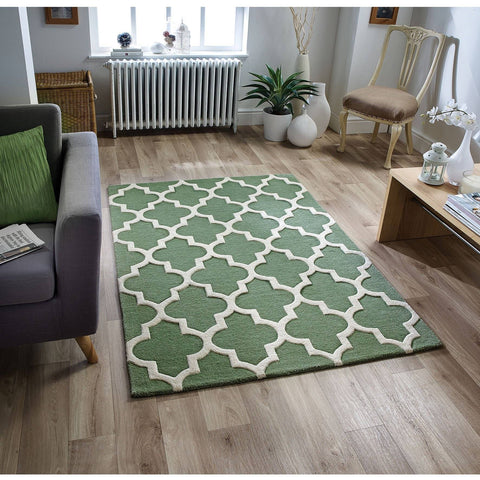 Moroccan Sage Green Area Rug Rugs & Rooms